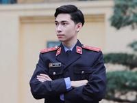 Nam sinh ĐH Kiểm sát Hà Nội điển trai, phong độ trong trang phục của ngành