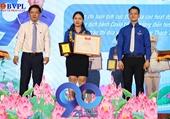 Bí thư Chi đoàn VKSND quận Hải Châu được vinh danh cán bộ đoàn tiêu biểu