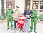 Khởi tố 2 con nghiện từ Nghệ An sang Hà Tĩnh trộm xe máy