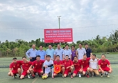 VKSND tỉnh Tiền Giang tổ chức giải bóng đá mini