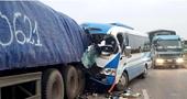 Phê chuẩn khởi tố tài xế xe khách đâm vào đuôi xe đầu kéo khiến 20 người thương vong