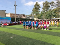 Trường Đào tạo và bồi dưỡng nghiệp vụ kiểm sát tại TP Hồ Chí Minh tổ chức giải bóng đá mini