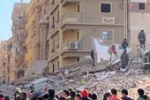 Sập tòa nhà chung cư ở Cairo, Ai Cập 42 người thương vong