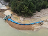 Tìm thấy nhiều vật dụng của nạn nhân mất tích tại thủy điện Rào Trăng 3