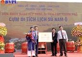 Cụm di tích lịch sử Nam Ô được xếp hạng di tích Lịch sử cấp thành phố
