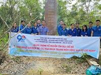 """Hành trình về nguồn tìm """"địa chỉ đỏ"""" tại Khu căn cứ Cách mạng Huyện ủy Hòa Vang"""