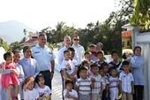 Đại sứ quán Canada khánh thành công trình nhân đạo tại Khánh Hòa