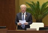 Phó Chủ tịch QH Uông Chu Lưu Quốc hội đánh giá cao những kết quả quan trọng của VKSND