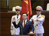 Đồng chí Vương Đình Huệ được Quốc hội bầu giữ chức Chủ tịch Quốc hội