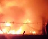 Bãi xe máy vi phạm của Công an TP Thủ Đức bốc cháy bí ẩn trong đêm