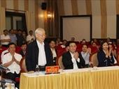 100 cử tri nơi cư trú ủng hộ Tổng Bí thư, Chủ tịch nước ứng cử đại biểu Quốc hội khóa XV