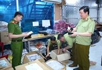 Triệt phá kho hàng lậu, giả nhãn hiệu lớn nhất từ trước đến nay tại Ninh Bình