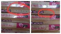 Phát hiện cơ sở phù phép hạn sử dụng sản phẩm mì ăn liền OMACHI