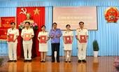 VKSND tỉnh An Giang Trao Quyết định bổ nhiệm chức danh Kiểm sát viên