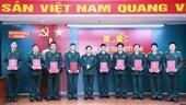 VKSQS trung ương trao quyết định bổ nhiệm Kiểm sát viên cao cấp