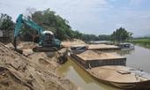 Nhiều vi phạm trong khai thác cát, sỏi, xây dựng trung tâm thương mại tại Hưng Yên