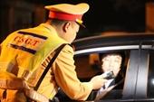 Không chấp hành yêu cầu đo nồng độ cồn, tài xế bị phạt 35 triệu đồng