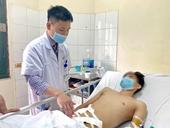 Phẫu thuật thành công nam thanh niên bị đứt súng do tai nạn xe máy
