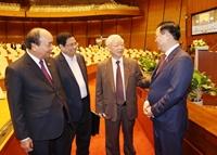 Hôm nay 5 4 , Chủ tịch nước và Thủ tướng Chính phủ sẽ tuyên thệ nhậm chức