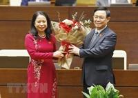 Bà Võ Thị Ánh Xuân được Quốc hội bầu giữ chức Phó Chủ tịch nước