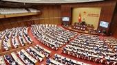 Quốc hội tiếp tục làm việc về công tác nhân sự