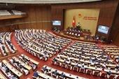 UBTVQH phê chuẩn nhân sự HĐND 4 tỉnh
