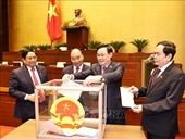 Quốc hội phê chuẩn miễn nhiệm một số Phó Thủ tướng và thành viên Chính phủ