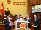 Hôm nay Quốc hội phê chuẩn việc miễn nhiệm một số Phó Thủ tướng, Bộ trưởng