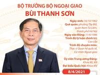 Bộ trưởng Bộ Ngoại giao Bùi Thanh Sơn