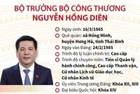 Bộ trưởng Bộ Công Thương Nguyễn Hồng Diên