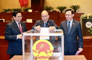 Quốc hội phê chuẩn đề nghị việc bổ nhiệm một số Phó Thủ tướng