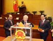 Quốc hội bỏ phiếu phê chuẩn một số Phó Chủ tịch, Ủy viên Hội đồng bầu cử quốc gia