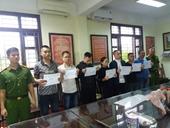 Đã bắt được 7 đối tượng khủng bố , ném chất bẩn đòi nợ ở Nam Định
