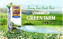 Vinamilk ra mắt sữa tươi Green Fram từ trang trại sinh thái