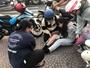 Nữ sinh viên thoát chết thần kỳ dưới bánh xe tử thần