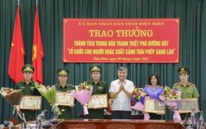 Khen thưởng đột xuất một tập thể, 2 cá nhân thuộc VKSND tỉnh Điện Biên