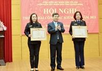 Viện trưởng VKSND tối cao tặng Bằng khen cho 4 tập thể, 12 cá nhân