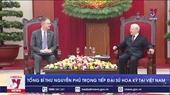 Tổng Bí thư Nguyễn Phú Trọng tiếp Đại sứ Hoa Kỳ tại Việt Nam