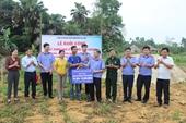 VKSND Hà Tĩnh khởi công xây nhà tình nghĩa tặng hộ nghèo