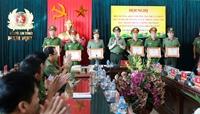 Công an Nam Định khen thưởng tập thể, cá nhân triệt xoá 2 chuyên án lớn
