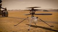 Trực thăng của NASA thực hiện khoảnh khắc lịch sử lần đầu tiên bay trên sao Hỏa