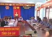 VKSND huyện Chư Pưh công bố dự thảo Kết luận kiểm tra nghiệp vụ