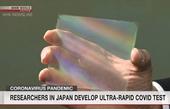 Nhật Bản phát triển thiết bị xét nghiệm COVID-19 cho kết quả trong vòng 5 phút