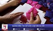 Quảng Bình thu giữ gần 4 500 viên ma túy