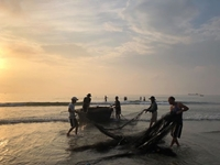 Đến Đà Nẵng săn bình minh ở làng chài cổ đẹp nhất Nam Trung Bộ