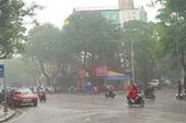 Miền Bắc ban ngày nắng nóng, đến chiều và đêm mưa rào