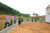 Nét đẹp cán bộ, công chức ngành Kiểm sát Giúp dân xây dựng Nông thôn mới