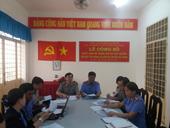 Trực tiếp kiểm sát hoạt động thi hành án dân sự tại huyện Kế Sách