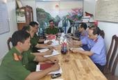 VKSND huyện Krông Nô trực tiếp kiểm sát tại cơ quan Cảnh sát điều tra