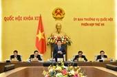 Khai mạc Phiên họp thứ 55 của Uỷ ban Thường vụ Quốc hội